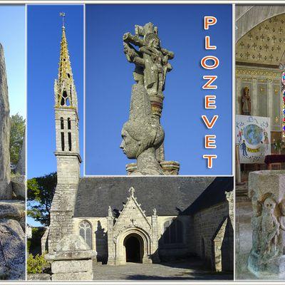 29 - Eglise Saint-Démet et son calvaire - Plozévet