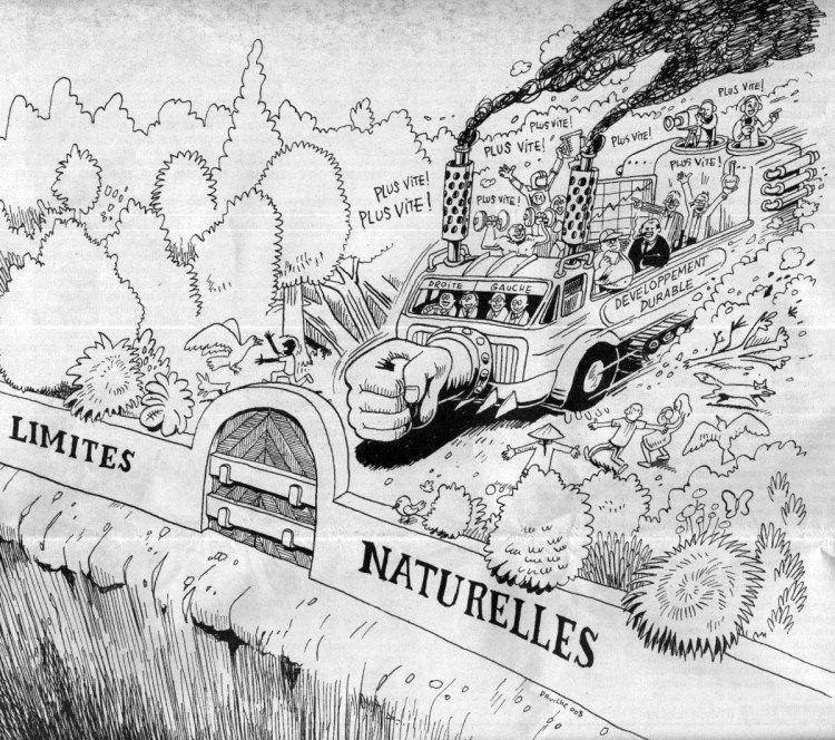 écologie décroissance anticapitalisme