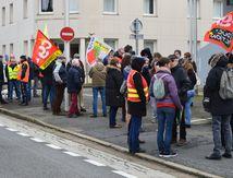 Soutien secrétaire général de l'Union locale CGT Compiègne