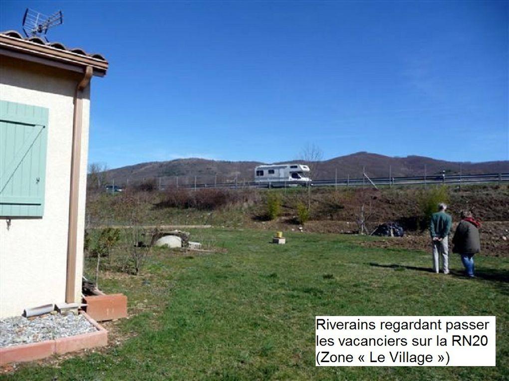 Zones de bruit à Saint-Jean de Verges