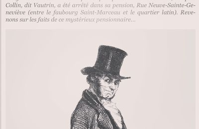 Un article de presse sur Jacques Collin, dit Vautrin