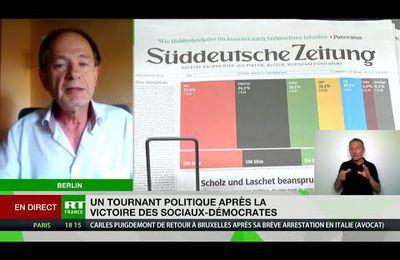 VIDEO : Allemagne : Pierre Lévy, invité par RT, analyse les résultats électoraux