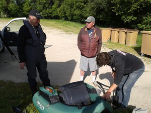 Oulins accueille le Fishing Tour