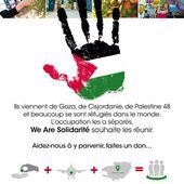 """La Palestine à Paris, une initiative """"We Are Solidarité"""" - ThePrairie.fr"""