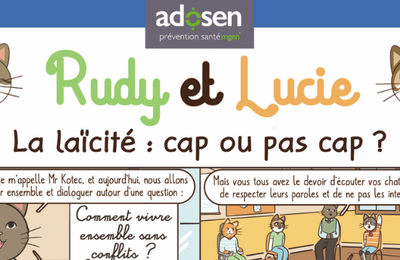 Rudy et Lucie: Une bande dessinée sur la laïcité