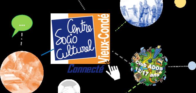 Centre social connecté : gardons le lien
