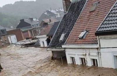 ALERTE - Inondations en Belgique et en Allemagne: Au moins 95 morts