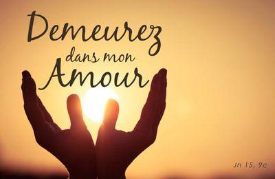Evangile du 06 Mai « Demeurez dans mon amour » (Jn 15, 9-11) #parti2zero #evangile