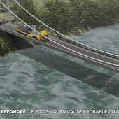 Effondrement du pont de Mirepoix-sur-Tarn : la suite de l'enquête - Le journal de 20h | TF1
