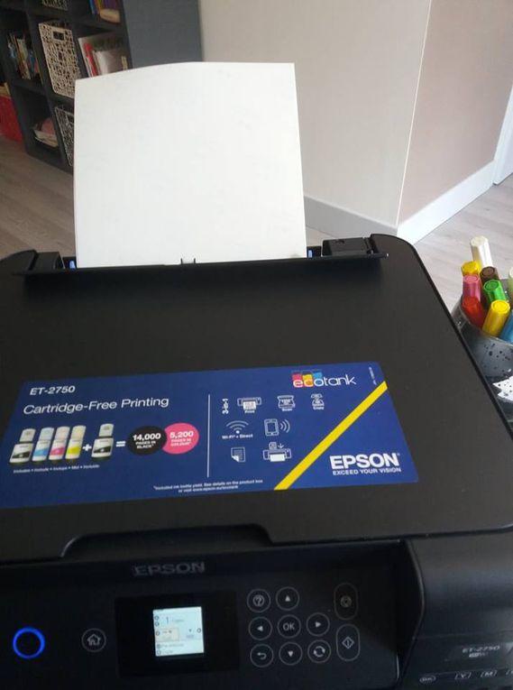 Notre transfert de dessin sur Tote Bag ! Simple comme bonjour avec Epson !