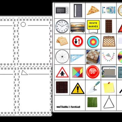 Trier les formes : en route pour la fabrication d'un livre des formes !