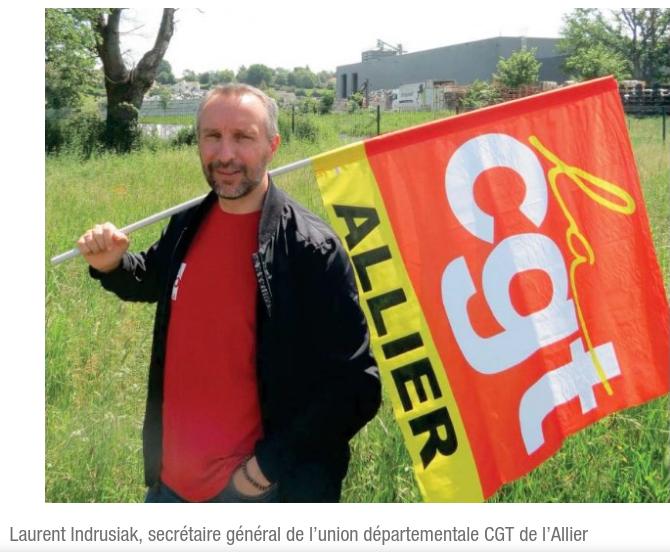 MOBILISATION le 8 juillet contre la répression syndicale dans l'ALLIER