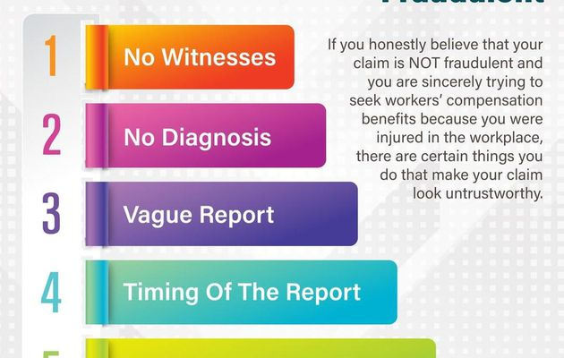 Some Signs Your Workers Compensation Claim Looks Fraudulent