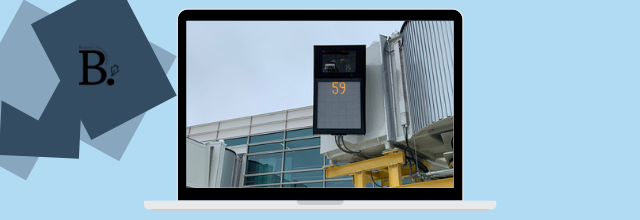 Reagan National Airport's new concourse equipped with ADB SAFEGATE aircraft parking technology, delivered by AERO BridgeWorks