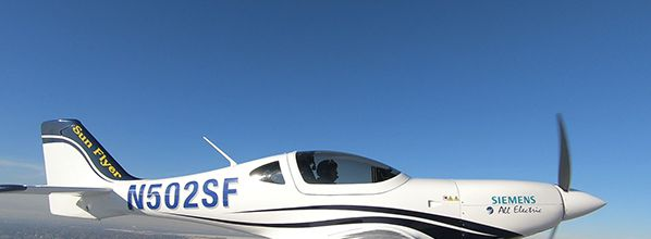 Sun Flyer 2 Completes First Flight with Siemens Electric Propulsion Motor