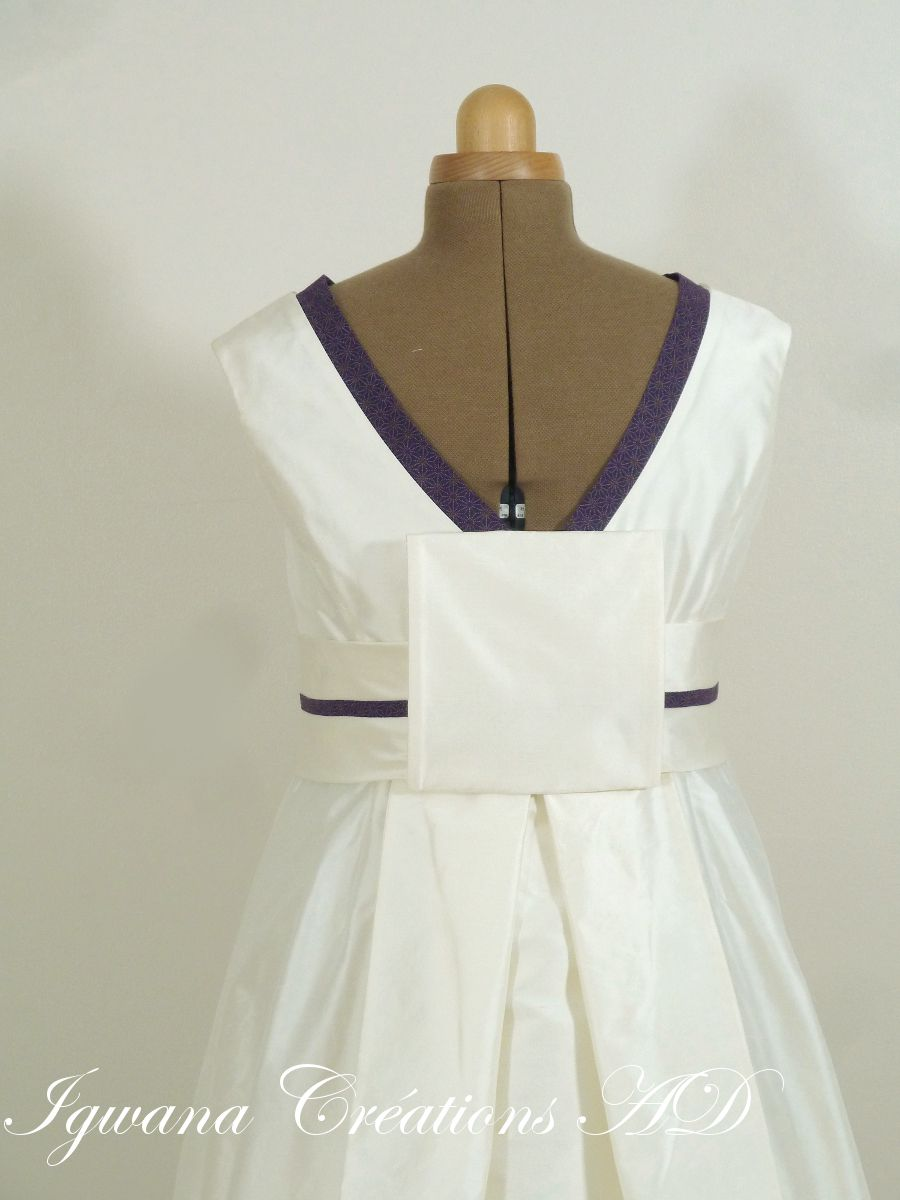 Robe japonisante Laurence
