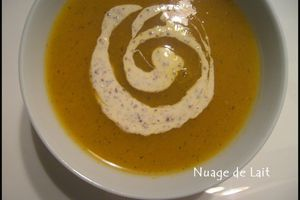 Velouté de Courge Express et Light en +