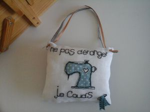 broderie ... et couture