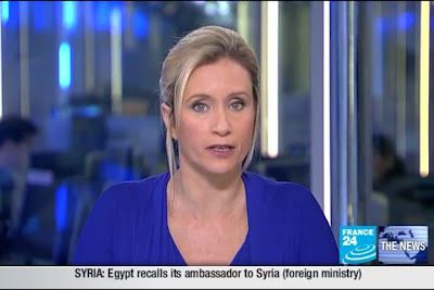 2012 02 19 @21H36 - MELISSA BELL, FRANCE 24, THE NEWS