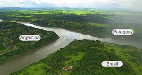 Imágenes del río Paraná.- El Muni.