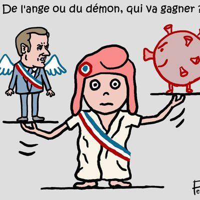 Macron contre le Covid