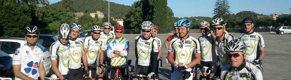 Sortie du Cyclo Club Châteaneuf - Malataverne