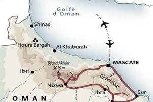 Janvier // Février 2022 : Circuit au Sultana d'OMAN, DUBAÏ, ABU-DHABI