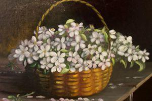 Panier de fleurs de la campagne