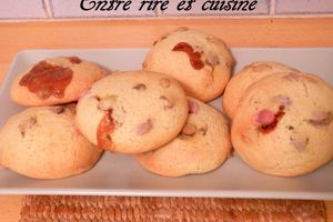 Cookies aux toffee