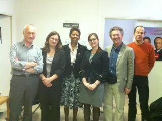 Les Sans Radio chez Mme la Ministre, George-Pau Langevin