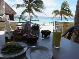 Riviera Maya:au sud et au nord de Playa del Carmen