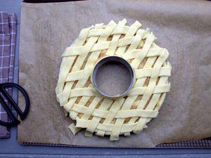 Apple pie au caramel en couronne