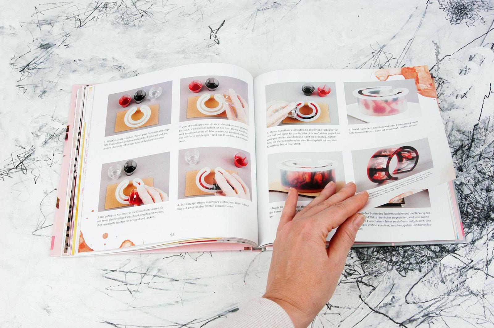"""Buch """"Stilvoll mit Resin"""" ist erschienen"""