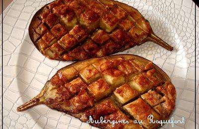 Aubergines au Roquefort