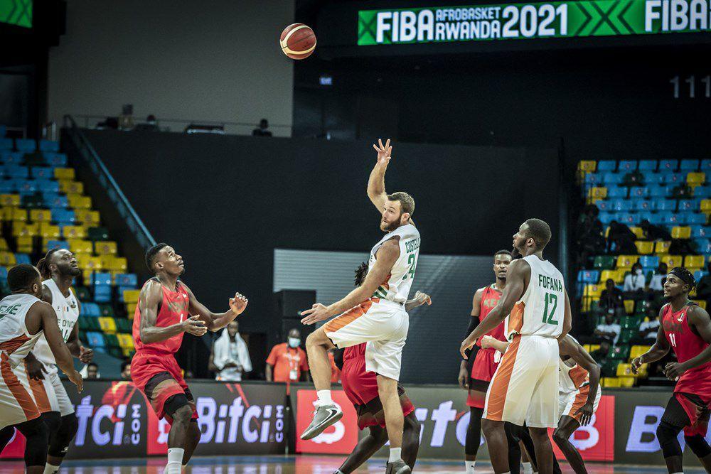 AfroBasket 2021 : la Côte d'Ivoire fait respecter son statut de favori du groupe C en battant le Kenya