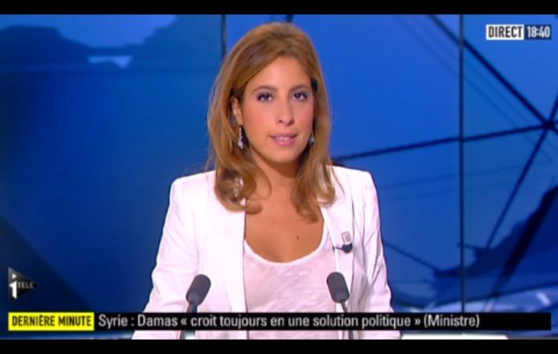 [2012 10 01] LEA SALAME - I>TELE - L'EDITION DU SOIR @18H30