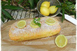 Cake au citron & fleur d'oranger