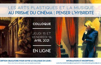 Les arts plastiques et la musique au prisme du cinéma : penser l'hybridité
