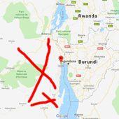 Géopolitique des Grands Lacs Africains : L'OCCIDENT et le RWANDA tentent d'occuper la région du SUD-KIVU,frontalière au Burundi,pour stopper une des 2 routes de la soie chinoise africaine, conduisant au Katanga. -