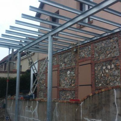 Fabrication d'une terrasse - Réf 1302-852