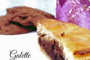 | Galette des rois poire chocolat |