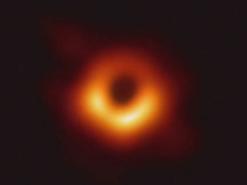 Black hole in galaxy Messier 87 (Credit: Event Horizon Telescope Collaboration)