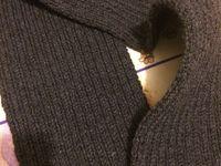 Mon écharpe finie