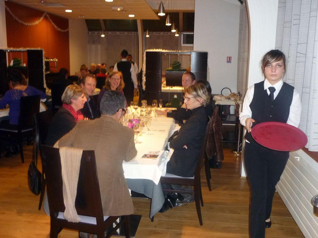 Photos du repas de noël du 19 Décembre
