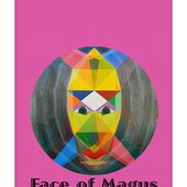 Face Of Magus Text Yoga Mat for Sale by Michael Bellon