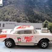 223-C CHEVY 57 HOT ROD 1/64 MAJORETTE + PETER PAN - car-collector.net