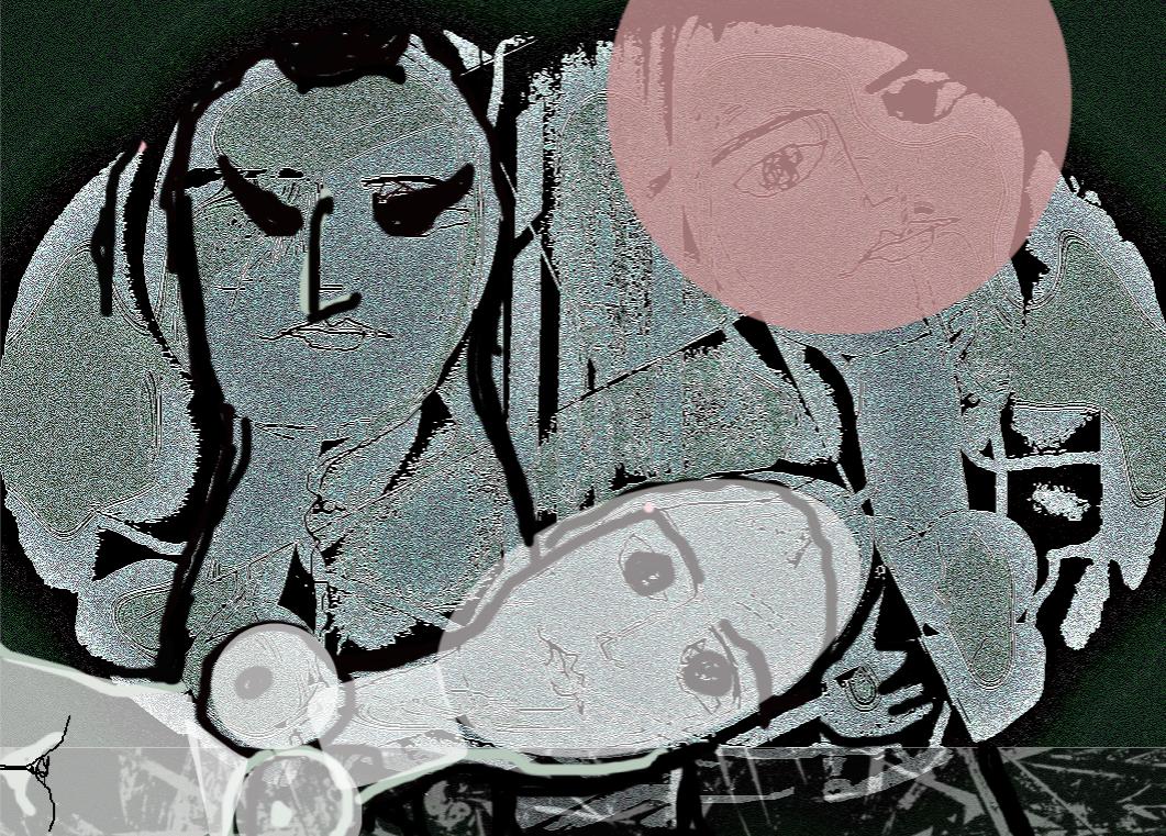 oeuvres de Marie Morel et de l'artiste colombienne Lucy Pereyra accompagneront les 6 livres du Livre d'éternité, un roman de plus de 800 pages pour plus de 80 ans de vie disant merci la Vie, à paraître en octobre 2021