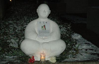 Hommage à Jeong-Ae Ju à Sotteville les Rouen