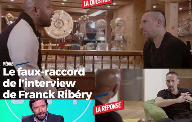 Le faux-raccord de l'interview de Franck Ribéry #fail
