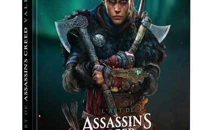 [REVUE LIVRE GAMING] L'ART DE ASSASSINS'S CREED VALHALLA aux éditions MANA BOOKS